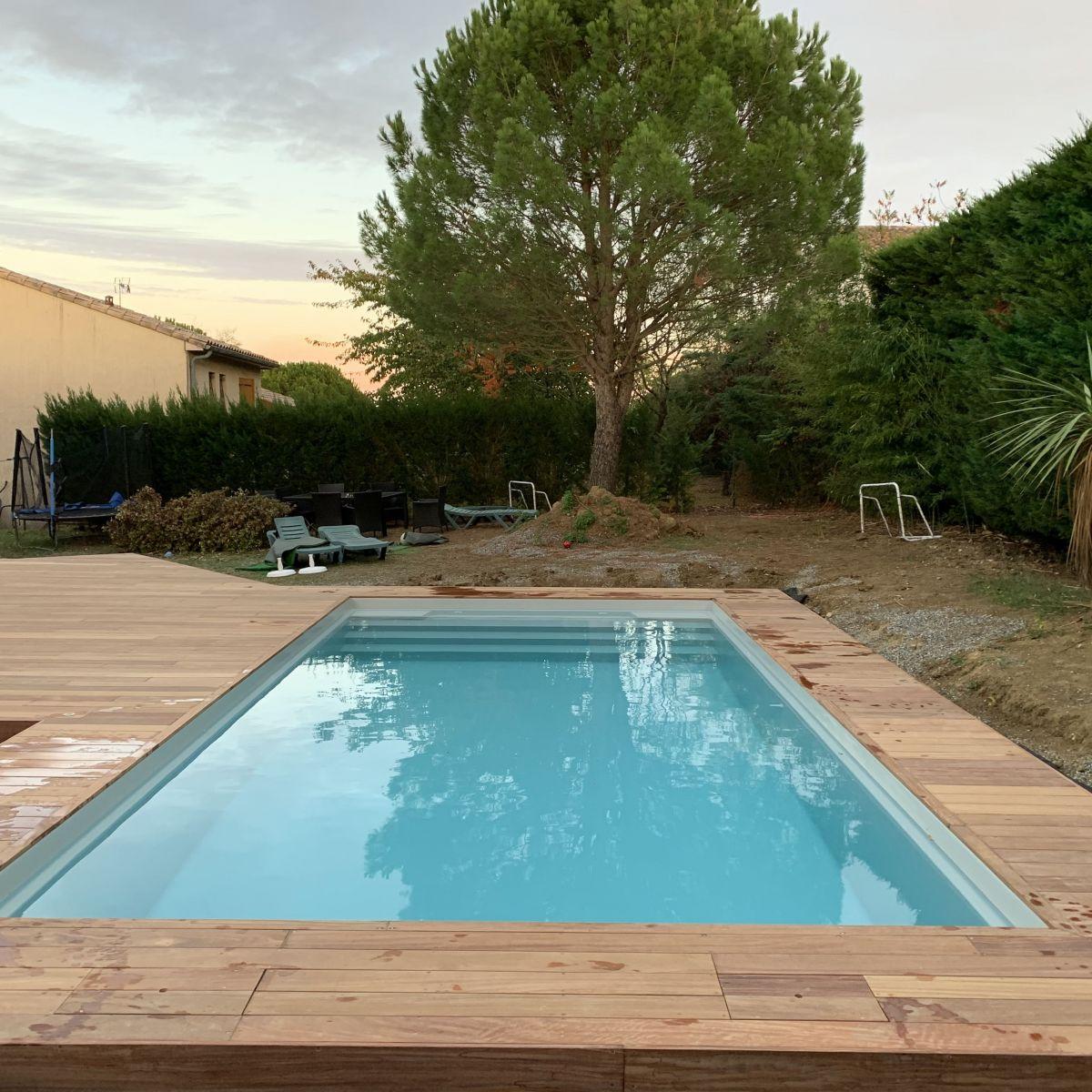 Constructeur de piscine coque avec plage toulouse - Camping a mimizan plage avec piscine ...